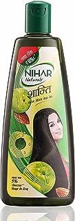 Nihar Naturals Shanti Badam Amla Hair Oil, 300ml - 1 Pack (Ship from India)