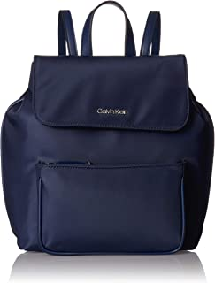 Calvin Klein Abby Nylon Flap Backpack