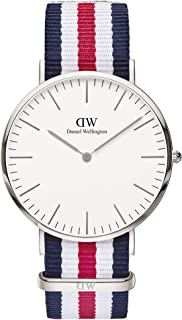 Daniel Wellington丹尼尔惠灵顿 男士 0208DW 模拟显示 日本石英多色手表