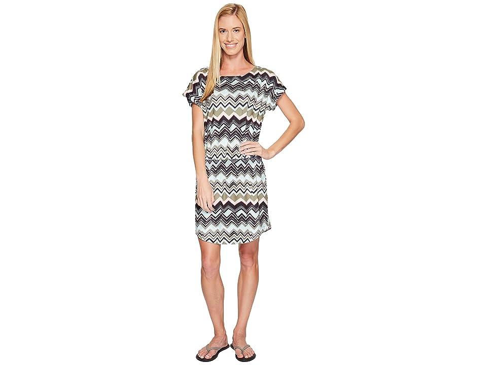 Lole Brodie Dress (Lichen Chevron Stripe) Women
