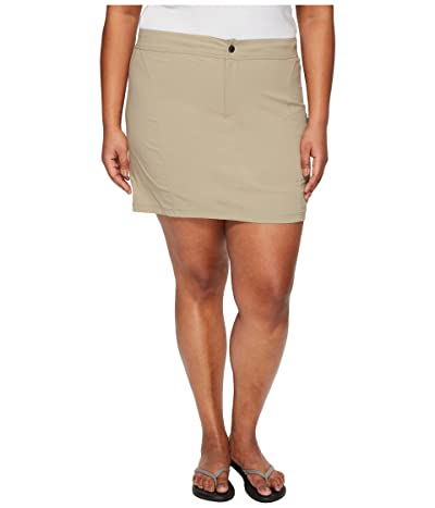 Columbia Plus Size Just Right Skort (Tusk) Women