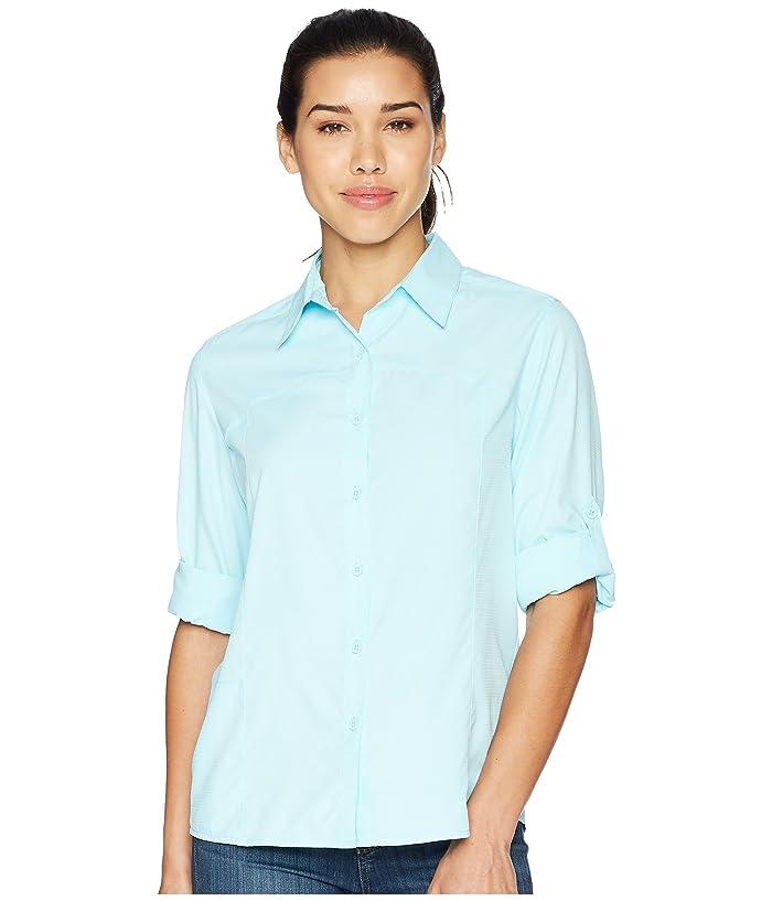 White Sierra Gobi Desert Printed Sleeveless Shirt D4268WP