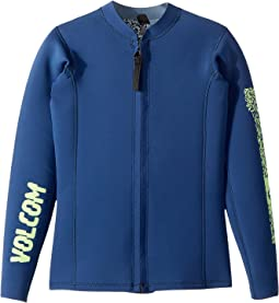 Volcom Kids Chesticle Wetsuit Jacket (Big Kids)