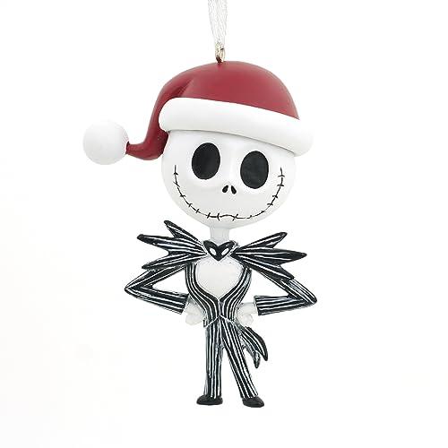 f469c392e Hallmark Ornament Disney Nightmare Before Christmas Jack Skellington Santa  Hat Jack Skellington Jack Skellington