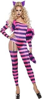 Starline Women's Trippy Kitty Jumpsuit Sexy 5 Piece Costume Set