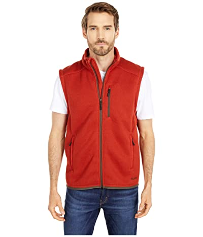 Filson Ridgeway Fleece Vest (Canvas Back) Men