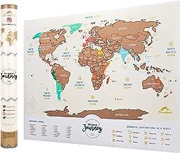 Mapa Para Marcar Viajes.Amazon Es Mapa Para Marcar Viajes
