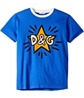 Dolce & Gabbana Kids - D&G Star T-Shirt (Toddler/Little Kids/Big Kids)