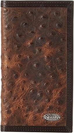 M&F Western - Nocona Vintage Ostrich Rodeo Wallet