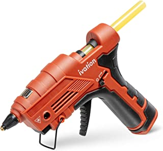 Ivation Cordless Butane Powered Glue Gun, Fast Heat-Up Gas Powered Hot GlueGun with Self-Regulating Temperature for DIY Pr...