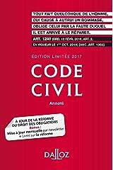 Code civil 2017. Édition limitée - 116e éd. Broché