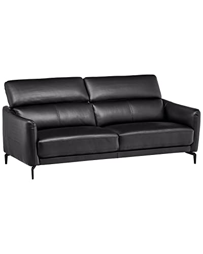 Small Leather Couch: Amazon.com