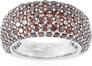 Esprit Collection Amorana Autumn ELRG91530C160 Women's Earrings 925 Sterling Silver brown