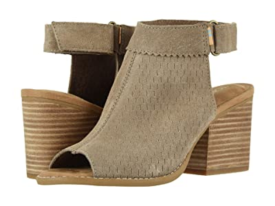 TOMS Grenada (Taupe Gray Suede/Perf) Women