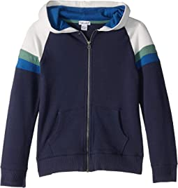 Racing Stripe Hoodie Jacket (Little Kids/Big Kids)