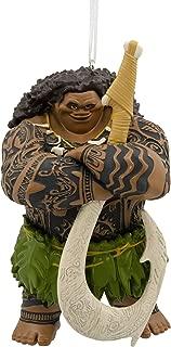 Hallmark Disney Moana Maui Christmas Ornaments