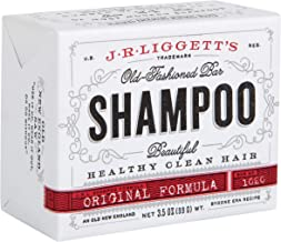 J·R·LIGGETT'S All-Natural Shampoo Bar, Original Formula - Supports Strong and Healthy Hair - Nourish Follicles with Antiox...