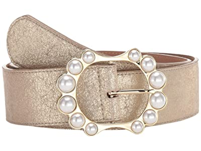 Leatherock Paulette Belt (Champagne) Women