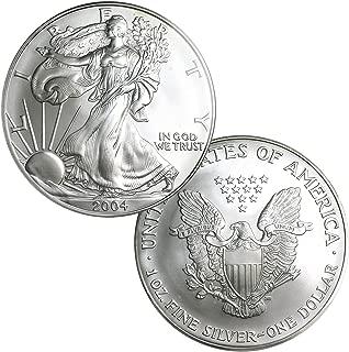 2004 American Silver Eagle $1 Brilliant Uncirculated