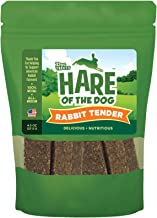 Hare Of The Dog 100% Rabbit, Tenders 4.5Oz - All Natural, Grain Free Dog Treat, Limited Ingredients, Usa Made