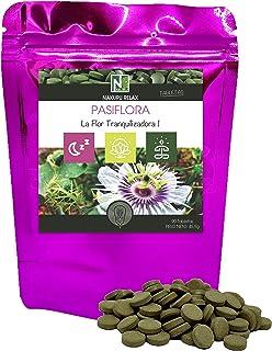 Pasiflora/NAKURU Relax/Polvo Orgánico Secado y Comprimido en Frío/Analizado y Acondicionado en Francia /