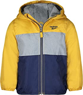 Osh Kosh Baby Boys' Midweight Fleece Lined Windbreaker Jacket