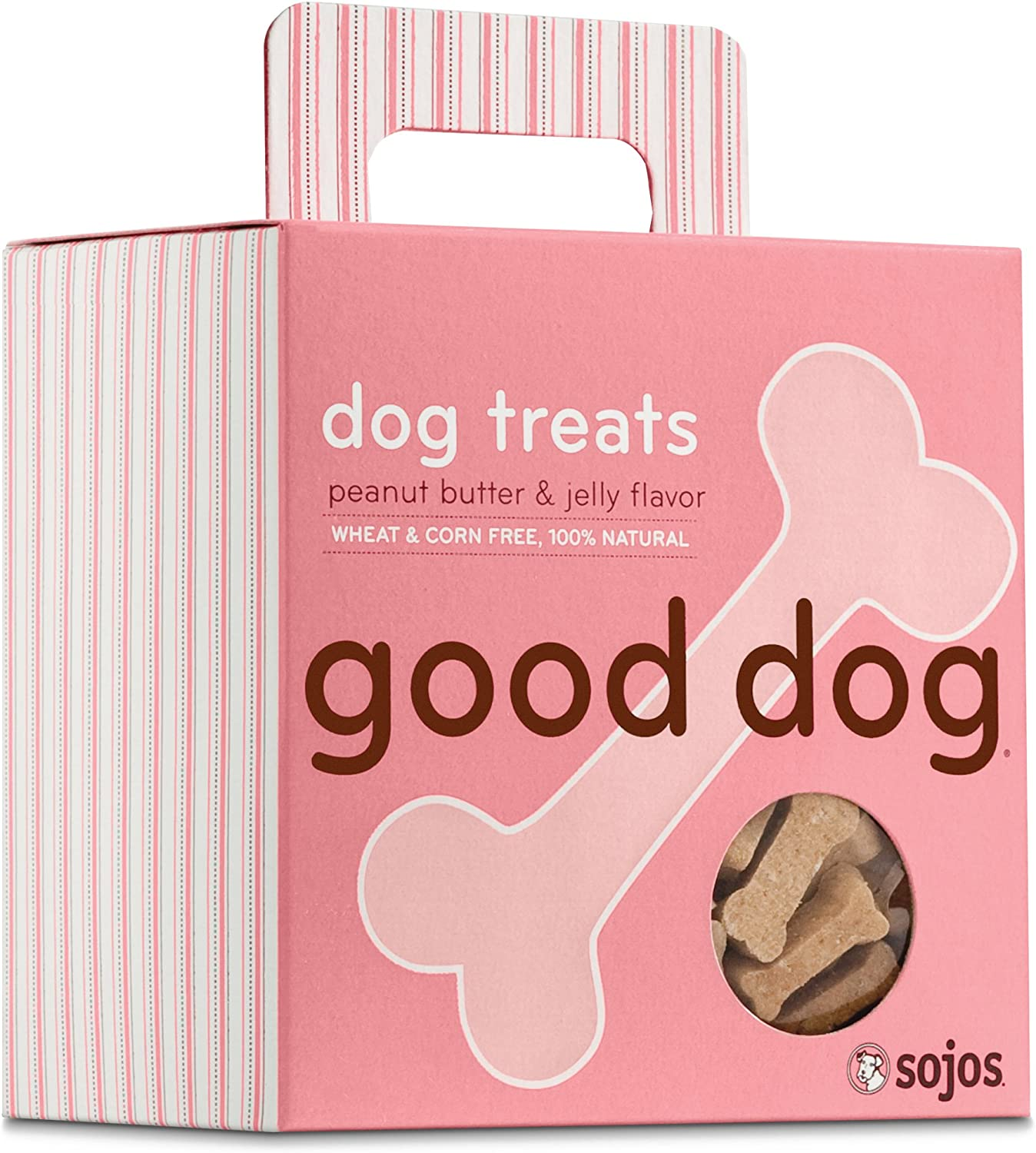 Sojos Good Max Direct stock discount 64% OFF Dog Crunchy Natural Peanut Treats Jelly Butter