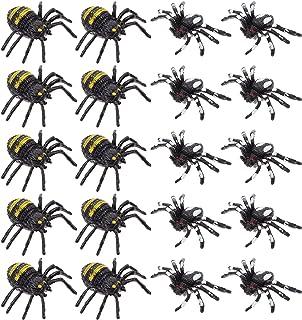 20 قطعة من ألعاب العنكبوت، هدايا الحفلات من Generic (لون متعدد)