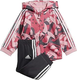 509f45b7ea6d4 adidas I Shiny Fzhd J Survêtement pour bébé