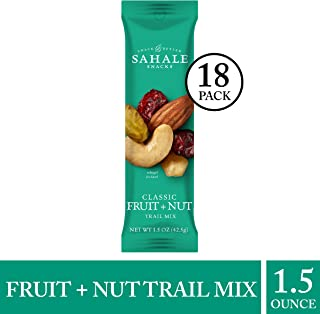 Sahale Snacks Classic Fruit + Nut Trail Mix, 1.5 Ounces (18 Count)