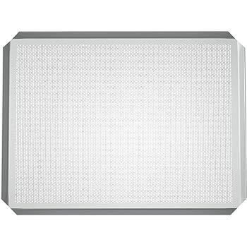 LEHRMANN Lochblech 45,5 x 37,5 cm Backblech Kuchenblech Baguetteblech Pizzablech für Backofen Bosch Neff Siemens