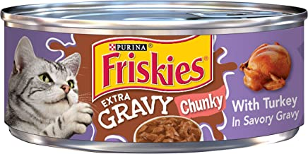 Purina Friskies Extra Gravy Canned Wet Cat Food – (24) 5.5 oz. Cans
