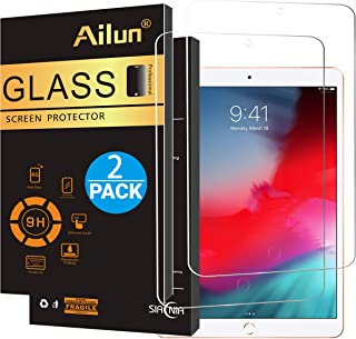 Ailun Screen Protector Compatible iPad Pro 10.5 inch(2017)/iPad air 10.5 inch(2019),[2Pack] Apple Pencil Compatible,Tempered Glass,Scratch Resistant,Bubble-Free,Siania Retail Package