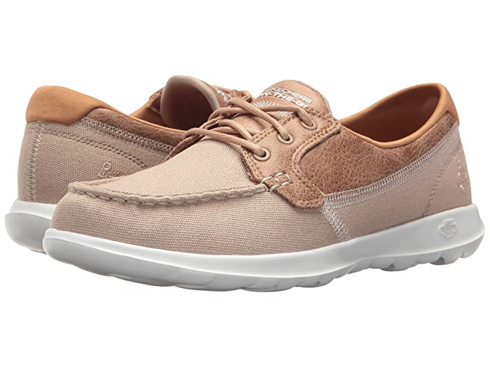 SKECHERS Performance  GOwalk Lite - Coral (Natural) Womens  Shoes