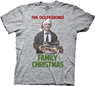 National Lampoons Christmas Vacation Old Fashioned Adult T-Shirt