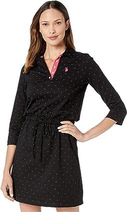 Jersey Tri-Dot Dress
