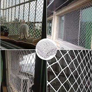 子供 転落防止網 2x4m 危険防止 手すりネット 取り付けバンド付属 どに適ディスプレイ、インテリア, 白