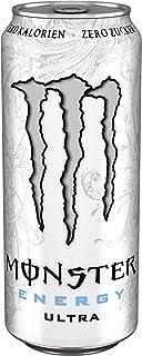 Monster Energy Ultra White Einweg Dose, 1 x 0,5 l