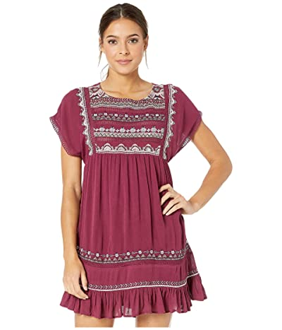 Free People Sunrise Wanderer Mini (Plum) Women
