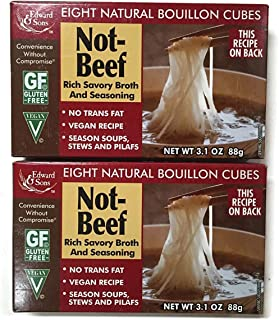 Not-Beef Edward & Sons Bouillon Cubes (Set of 2)