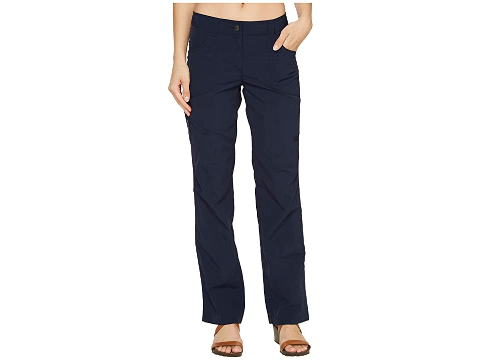 Jack Wolfskin Marrakech Roll-Up Pants (Midnight Blue) Women