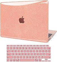 JGOO Funda para MacBook Air 13 Pulgadas 2020 2019 2018 Release A2337 M1 A2179 A1932, Estuche Rígido Liso Brillante Shine +...