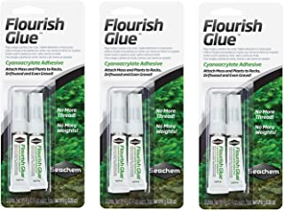 Seachem Plant Flourish Glue Tubes (3 Packages/6 Tubes Total)