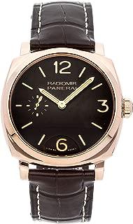 Panerai Radiomir 1940 Mechanical (Hand-Winding) Brown Dial Mens Watch PAM 513 (Certified Pre-Owned)
