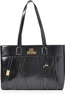 Love Moschino JC4292PP0BKP100A, Bandolera para Mujer, Negro, Normale