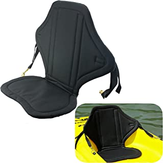 Welugnal Universal Sit on Top Kayak Seat w/Back Pack Padded seat Canoe Marine