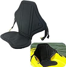 Welugnal Universal Sit on Top Kayak Seat w/Back Pack Padded seat Canoe Marine