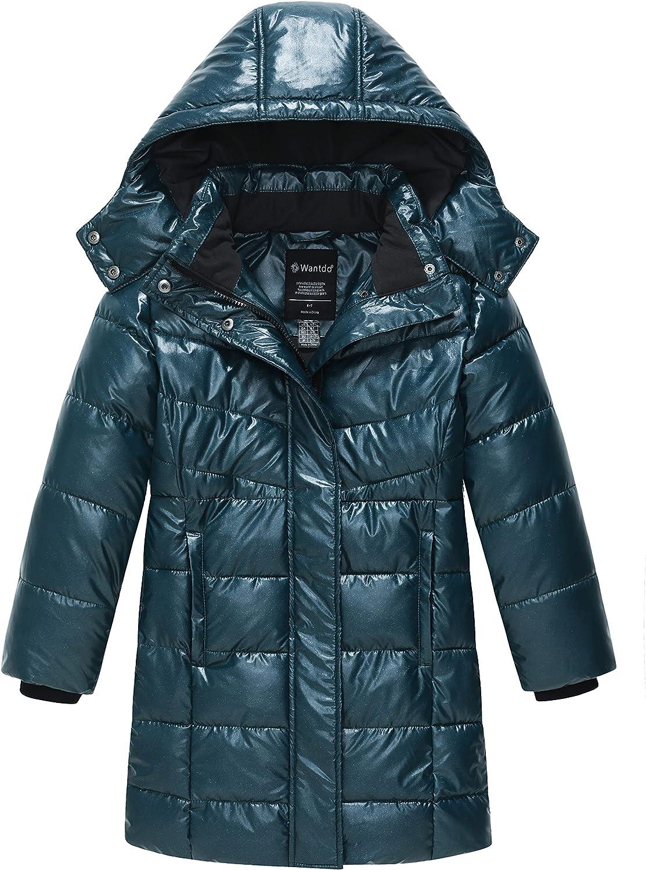 Wantdo Girl's Popular Puffer jacket Warm Coat Lightweig security Winter Insulated