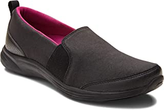 Vionic Women's Agile Amory Slip-on Sneaker- Ladies Walking Shoes with Concealed Orthotic Support