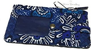 Vera Bradley Ultimate Card Case - Blue Tapestry
